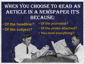 printed Newspapers, have you seen one lately? ESL and conversation lesson