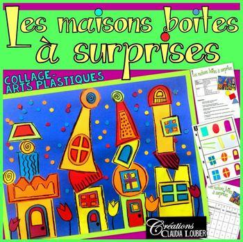 printemps - Arts plastiques - Les maisons boites à surprises