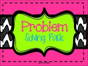 problem solving pack for unknowns
