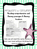 producers and consumers fluency and comprehension leveled