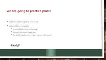 profit explained power point