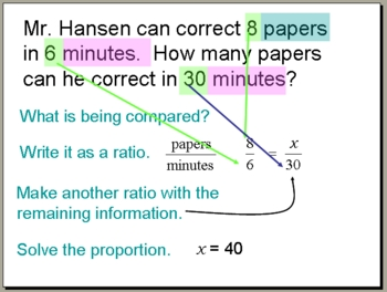 proportion word problems powerpoint