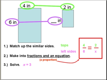 proportions & similar figures powerpoint