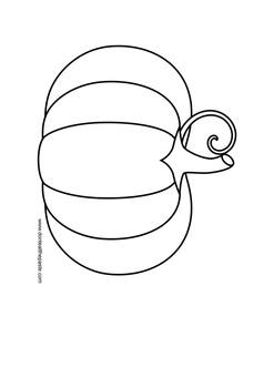 pumpkin image for shape lesson