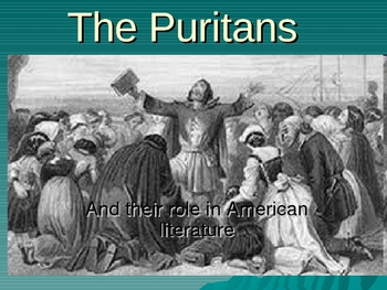 puritans and their role in society #1