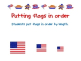 put the flags in order