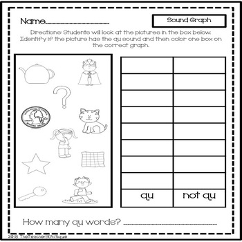 QU: 12 Print and Go Word Work Activities