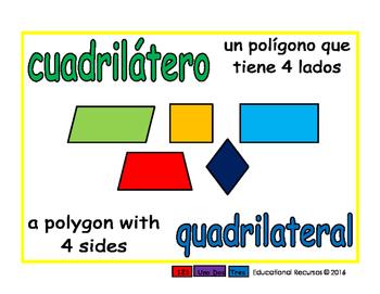 quadrilateral/cuadrilatero geom 1-way blue/verde