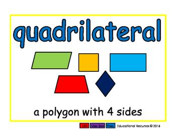 quadrilateral/cuadrilatero geom 2-way blue/verde