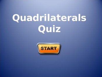 quadrilaterals quiz