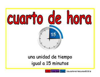 quarter hour/cuarto de hora meas 2-way blue/rojo