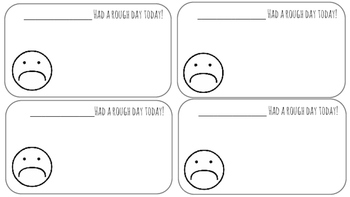 quick behavior notes
