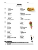 quiz de vocab - au restaurant (matching)
