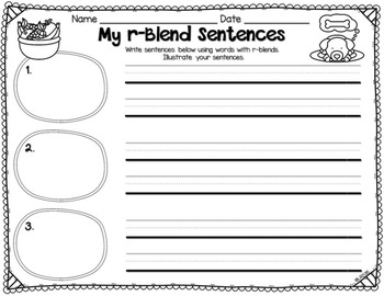 r-Blends Activity Cards