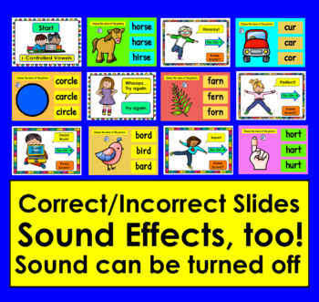 r-Controlled Vowels PowerPoint Game!  With VIDEO PREVIEW