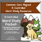 r-Controlled Vowels Word Study Packet: (Tara and Tiree) Re
