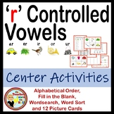 r Controlled Vowels  (word sort, picture cards, wordsearch & more)