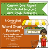 r-Controlled Word Study Packet: (Scarcity) Reading Street