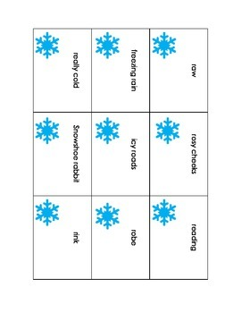 r artic winter flashcards