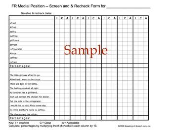 /r/ blends Artic-U-Checks data forms for baseline & progress monitoring