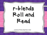 r-blends Roll and Read {Freebie}
