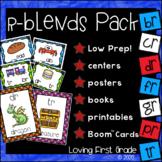 r-Blends Pack (br, cr, dr, fr, gr, pr, & tr) Centers & Printables