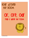 r-controlled o - or, ore, oar Read and Write the Room