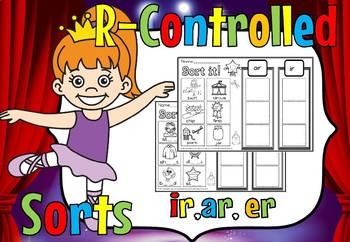 r controlled sort ar,er,ir