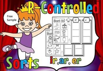 r controlled sort ar,er,ir(free sample)