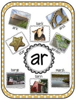 r-controlled vowel AR, Decoding Strategies, Word Work, and More