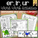 r controlled vowels- er, ir, ur word sort