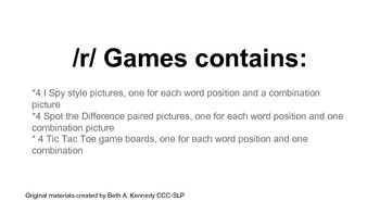 /r/ games