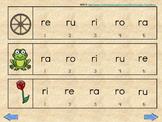 ra re ri ro ru silabas iniciales