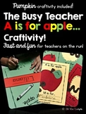 A Is For Apple Craftivity