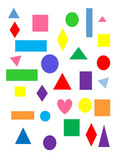 random shapes and colors