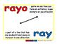 ray/rayo geom 1-way blue/rojo
