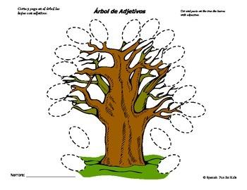 Árbol de Adjetivos (Tree of Adjectives)