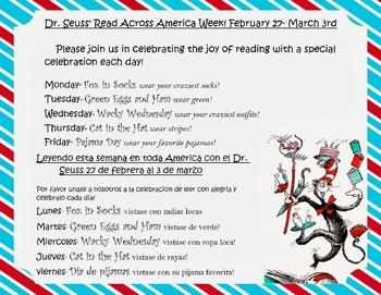 read across america dr seuss flyer
