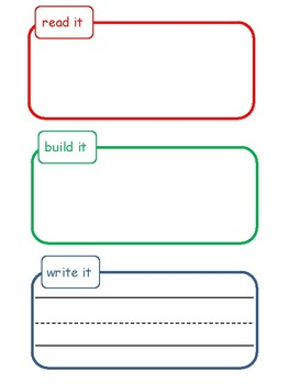 read, build, and write template