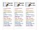 reader response bookmarks (English and Spanish)