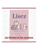 reading book in french ( forms & colors)