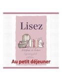 French reading book (the breakfast)