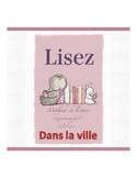 French reading book (the city)