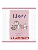 French reading book ( the clothes)