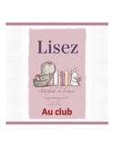 French reading book (the club)