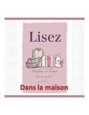 French reading book (the house)