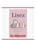 French reading book (the lunch)