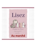 French reading book  (the market)