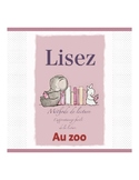 French reading book (the zoo)