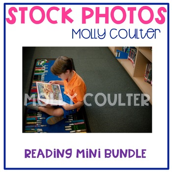 BUNDLE Stock Photo: Student Reading Set-Personal & Commercial Use